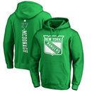Ryan McDonagh New York Rangers Fanatics Branded St. Patrick's Day Backer NHL Hoodie – Kelly Green