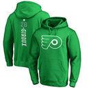 Claude Giroux Philadelphia Flyers Fanatics Branded St. Patrick's Day Backer NHL Hoodie – Kelly Green