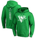 Sidney Crosby Pittsburgh Penguins Fanatics Branded St. Patrick's Day Backer NHL Hoodie – Kelly Green