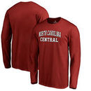 North Carolina Central Eagles Fanatics Branded Everyday Long Sleeve T-Shirt - Maroon