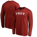 Troy University Trojans Fanatics Branded Everyday Long Sleeve T-Shirt - Cardinal