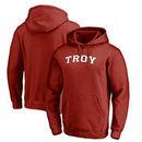 Troy University Trojans Fanatics Branded Everyday Pullover Hoodie - Cardinal