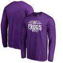 TCU Horned Frogs Fanatics Branded 2017 Alamo Bowl Bound Audible Long Sleeve T-Shirt – Purple
