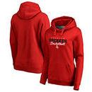 Houston Rockets Fanatics Branded Women's Script Assist Plus Size Pullover Hoodie - Red