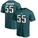 Brandon Graham Philadelphia Eagles NFL Pro Line by Fanatics Branded Authentic Stack Name & Number T-Shirt – Midnight Green