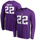 Harrison Smith Minnesota Vikings NFL Pro Line by Fanatics Branded Authentic Stack Name & Number Long Sleeve T-Shirt – Purple