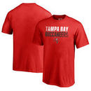 Tampa Bay Buccaneers NFL Pro Line by Fanatics Branded Youth Iconic Collection Fade Out T-Shirt - Red