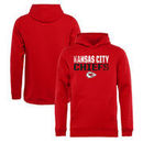 Kansas City Chiefs NFL Pro Line by Fanatics Branded Youth Iconic Collection Fade Out Pullover Hoodie - Red