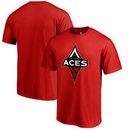 Las Vegas Aces Fanatics Branded Primary Logo T-Shirt – Red