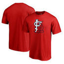 St. Louis Cardinals Fanatics Branded X-Ray Big & Tall T-Shirt - Red