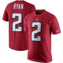 Matt Ryan Atlanta Falcons Nike Player Pride Name & Number T-Shirt – Red