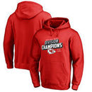 Kansas City Chiefs NFL Pro Line by Fanatics Branded 2017 AFC West Division Champions Pullover Hoodie – Red