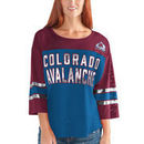 Colorado Avalanche G-III 4Her by Carl Banks Women's First Team Mesh T-Shirt – Blue