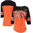 Philadelphia Flyers G-III 4Her by Carl Banks Women's First Team Mesh T-Shirt – Orange