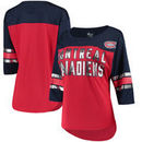 Montreal Canadiens G-III 4Her by Carl Banks Women's First Team Mesh T-Shirt – Red