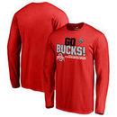 Ohio State Buckeyes Fanatics Branded 2017 Cotton Bowl Champions Flea Flicker Long Sleeve T-Shirt – Scarlet