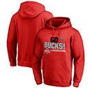 Ohio State Buckeyes Fanatics Branded 2017 Cotton Bowl Champions Flea Flicker Pullover Hoodie – Red