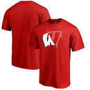 Wisconsin Badgers Fanatics Branded X Ray Big and Tall T-Shirt - Red