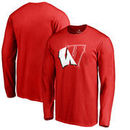 Wisconsin Badgers Fanatics Branded X Ray Long Sleeve T-Shirt - Red
