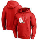 Wisconsin Badgers Fanatics Branded X Ray Pullover Hoodie - Red