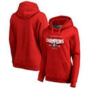 Georgia Bulldogs Fanatics Branded Women's College Football Playoff 2018 Rose Bowl Champions Goal Pullover Hoodie – Red