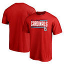 St. Louis Cardinals Fanatics Branded Onside Stripe Big & Tall T-Shirt - Red