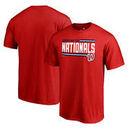 Washington Nationals Fanatics Branded Onside Stripe Big & Tall T-Shirt - Red
