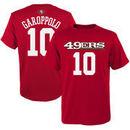 Jimmy Garoppolo San Francisco 49ers Youth Mainliner Name & Number T-Shirt – Scarlet