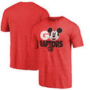 Toronto Raptors Fanatics Branded Disney Rally Cry Tri-Blend T-Shirt - Red