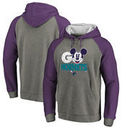 Charlotte Hornets Fanatics Branded Disney Rally Cry Tri-Blend Raglan Pullover Hoodie - Ash