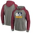 Cleveland Cavaliers Fanatics Branded Disney Rally Cry Tri-Blend Raglan Pullover Hoodie - Ash