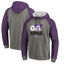 Sacramento Kings Fanatics Branded Disney Rally Cry Tri-Blend Raglan Pullover Hoodie - Ash