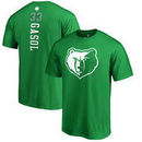 Memphis Grizzlies Fanatics Branded St. Patrick's Day Backer Name & Number Marc Gasol T-Shirt - Kelly Green