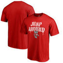 Wisconsin Badgers Fanatics Branded Hometown Collection Jump Around T-Shirt - Red