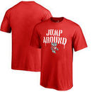 Wisconsin Badgers Fanatics Branded Youth Hometown Collection Jump Around T-Shirt - Red