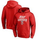 Wisconsin Badgers Fanatics Branded Hometown Collection Jump Around Pullover Hoodie - Red