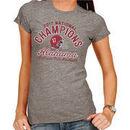 Alabama Crimson Tide Women's College Football Playoff 2017 National Champions Tri-Blend T-Shirt – Heather Gray