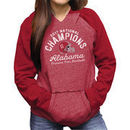 Alabama Crimson Tide Women's College Football Playoff 2017 National Champions Raglan Pullover Hoodie – Crimson