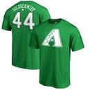 Paul Goldschmidt Arizona Diamondbacks Fanatics Branded St. Patrick's Day Stack Name & Number T-Shirt - Kelly Green