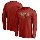 Denver Pioneers Fanatics Branded True Sport Soccer Long Sleeve T-Shirt - Crimson