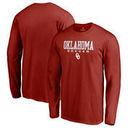 Oklahoma Sooners Fanatics Branded True Sport Soccer Long Sleeve T-Shirt - Crimson