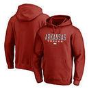 Arkansas Razorbacks Fanatics Branded True Sport Soccer Pullover Hoodie - Cardinal