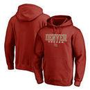 Denver Pioneers Fanatics Branded True Sport Soccer Pullover Hoodie - Crimson
