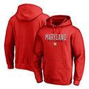 Maryland Terrapins Fanatics Branded True Sport Soccer Pullover Hoodie - Red