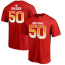 Ryan Shazier AFC NFL Pro Line by Fanatics Branded 2018 Pro Bowl Name & Number T-Shirt – Red