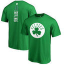 Kyrie Irving Boston Celtics Fanatics Branded St. Patrick's Day Backer Name & Number T-Shirt – Kelly Green