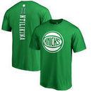 Frank Ntilikina New York Knicks Fanatics Branded St. Patrick's Day Backer Name & Number T-Shirt – Kelly Green