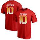 DeAndre Hopkins AFC NFL Pro Line by Fanatics Branded 2018 Pro Bowl Stack Name & Number T-Shirt – Red