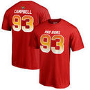 Calais Campbell AFC NFL Pro Line by Fanatics Branded 2018 Pro Bowl Stack Name & Number T-Shirt – Red