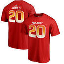 Reshad Jones AFC NFL Pro Line by Fanatics Branded 2018 Pro Bowl Stack Name & Number T-Shirt – Red
